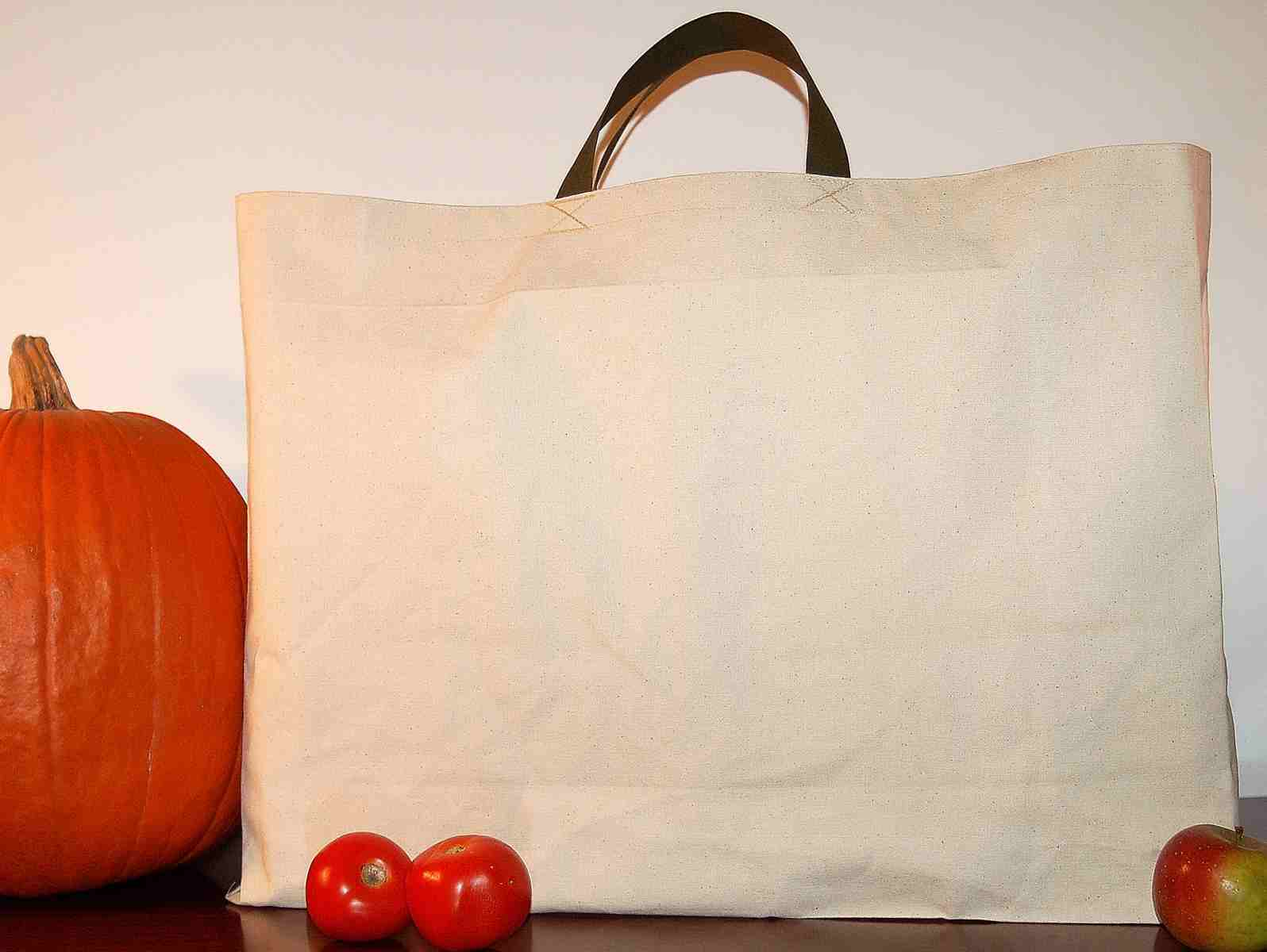 Turtlecreek USA Canvas Grocery Bags | Shopping Totes