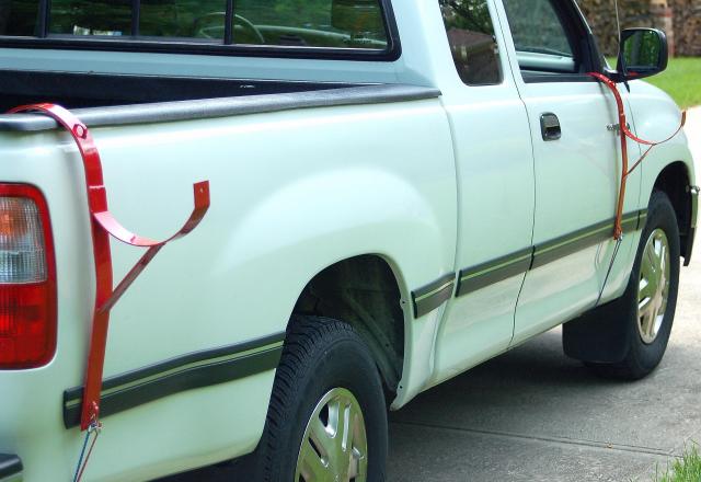 Turtlecreek Usa Pick Up Truck Side Carrier Brackets